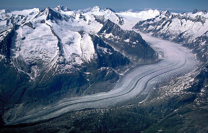 how to draw a glacier
